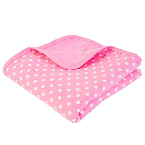SYB Cotton Flannel Baby Blanket; EMF Anti-Radiation Protector for Your Baby (Pink) by SYB (Image #9)