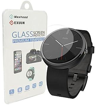 BesYee - Protector de pantalla para reloj Motorola Moto 360, 0,3 ...