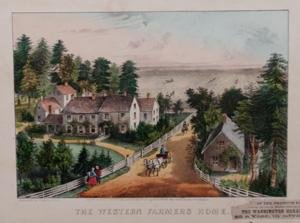 Currier & Ives Fine Art (The Western Farmers Home)