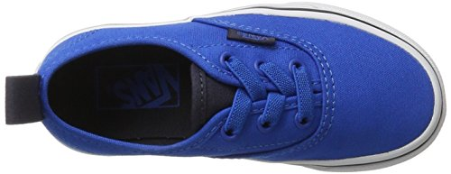 Vans Jungen UY Authentic Elastic Lace Sneaker Blau (Canvas Imperial Blue/parisian Night)