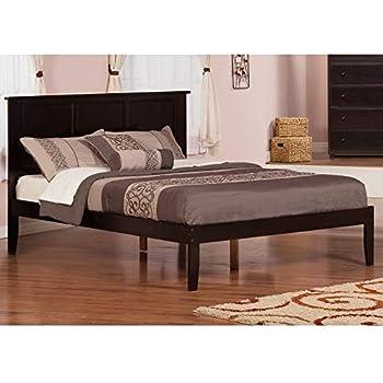 Amazon Com Atlantic Furniture Madison Espresso Wood Open