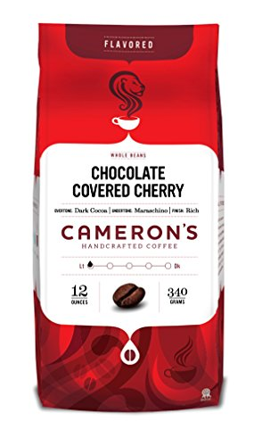 Cameron's Whole Bean Coffee, Chocolate Covered Cherry, 12 Ounce (Chocolate Coffee Beans Whole compare prices)