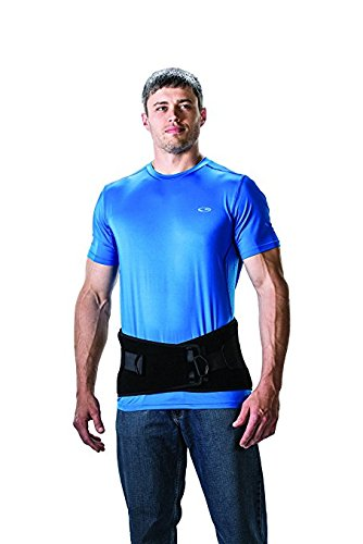 Premium Lumbosacral Support Belt - Bariatric / Plus size Lower Back Brace Lumbar Support For Lower Back Pain - 3X