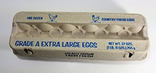 Little Giant Egg Paper Cartons Twelve Eggs (25-Count; White) by LITTLE GIANT