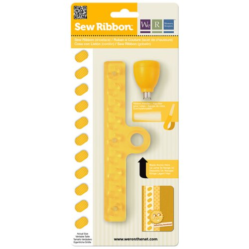 Lace Memory - We R Memory Keepers 71213-8 Shoelace Sew Ribbon Tool