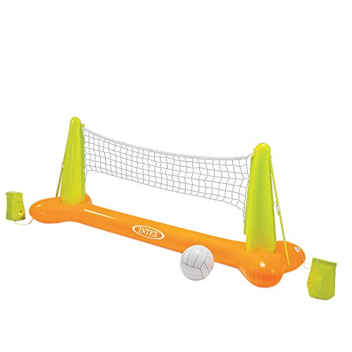 Intex Pool Volleyball Game, 94″ X 25″ X 36″, for Ages 6+