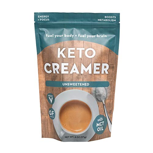 Keto Creamer with MCT Oil, Dairy Free Super Creamer (Unsweetened)