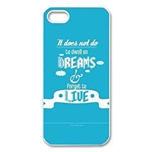 Custom Harry Potter Quotes Hard Back Cover Case for iPhone 5/5s