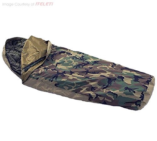 Camouflage tent cover