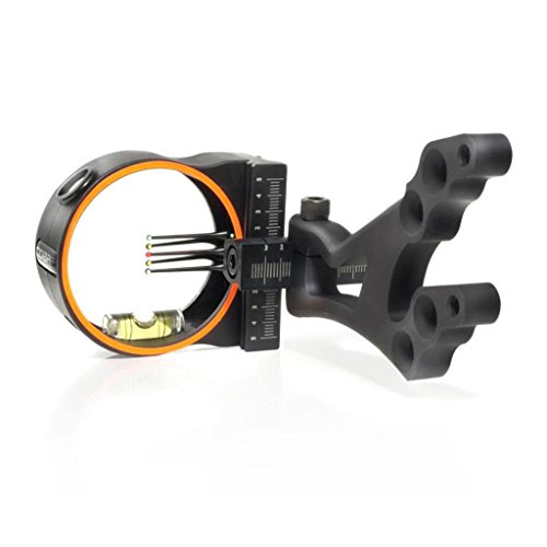 Fiber Glo Pin Sights - Cobra Venom G3 Bow sight 5 Pin Sight Ultra .019