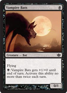 Magic: the Gathering - Vampire Bats - Duel
