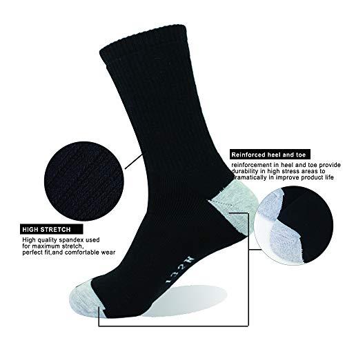 Enerwear 10P Cotton Heavy Crew Socks