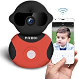 FREDI Indoor WiFi IP Camera 720P HD Wireless Home Security Camera with Pan/Tilt Night Vision for Smart Phone