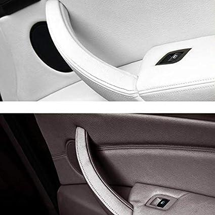 NO LOGO KF-Manche Car Styling Droite Gauche Panneau de Porte int/érieure Poign/ée Garniture Porte int/érieur Auto Accessoires for BMW X5 E70 E71 E72 X6 SAV Couleur : Left 01