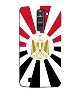 ColorKing Football Egypt 08 Multicolor shell case cover for LG K10