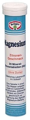 Krueger Magnesium Effervescent Mineral Tablets (Pack of 3)