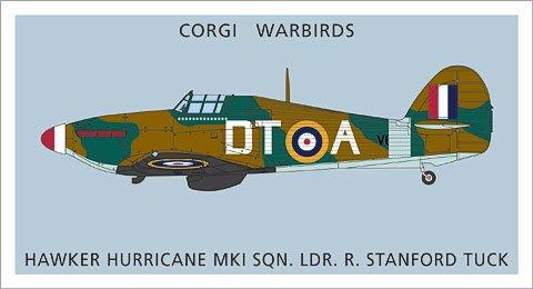 - corgi Hawker Hurricane MkI WB99620 Scale 1:72