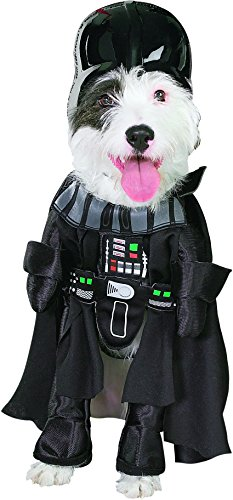 [Darth Vader Dog Pet Costume - Large] (Star Wars Halloween Costumes For Dogs)