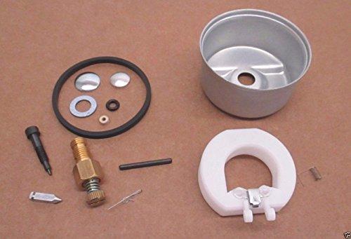 (Tecumseh Genuine 632347 Carburetor Repair Kit 631700 Bowl 632019A Float OEM)