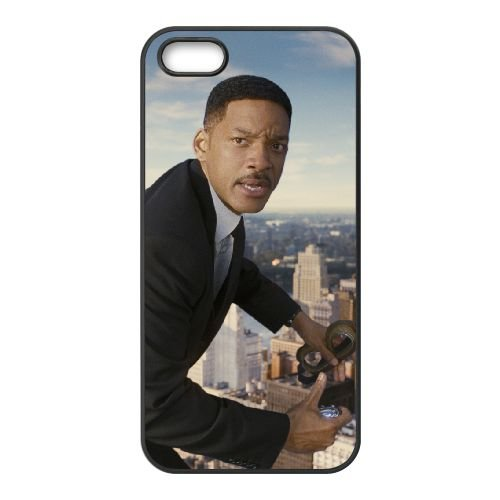 Men In Black Iii 8 coque iPhone 5 5S cellulaire cas coque de téléphone cas téléphone cellulaire noir couvercle EOKXLLNCD25978