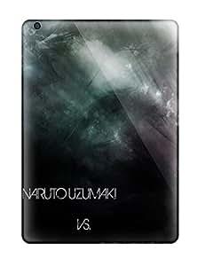 New Tpu Hard Case Premium Ipad Air Skin Case Cover(naruto And Sasuke Anime Naruto)