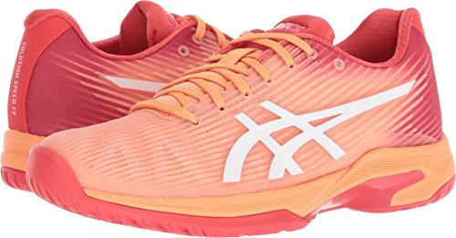 ASICS Women's Solution Speed FF Tennis Shoes, Mojave/White, Size 10.5