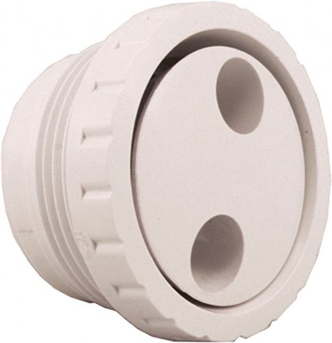CMP 23315-030-000 1.5 in. MPT Gunite Spa Jet, Pulsator, White
