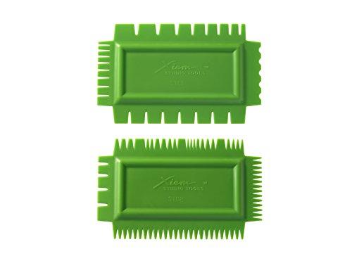 Xiem Tools Ultimate Texture Combs (Firm, Set A)
