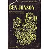 img - for Ben Jonson: a Collection of Critical Essays. book / textbook / text book