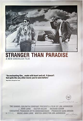 - Stranger Than Paradise (Original poster for the 1984 film, Style A)