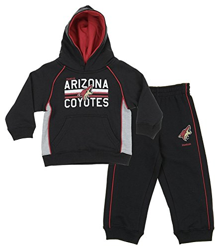 Phoenix Coyotes Sweatshirt - Outerstuff NHL Little Boys Todders/Infants Classic Fan 2 Piece Hoodie & Pant Set, Phoenix Coyotes