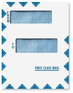 EGP Offset Window First Class Mail Envelope - Peel and Seal - 100 ()