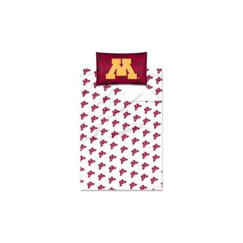The Northwest Company Officially Licensed NCAA Minnesota Golden Gophers Twin Sheet ()