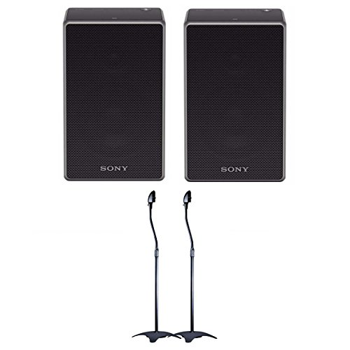 Sony SRSZR5 Wireless Speaker with Bluetooth/Wi-Fi (2 Speakers) w/adjustable speaker stands by Sony