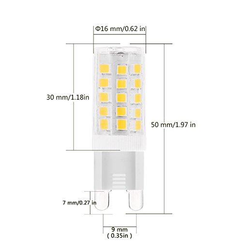G9 Led Light Bulbs 5 Watt J Amp C Led Equivalent To 40 Watt