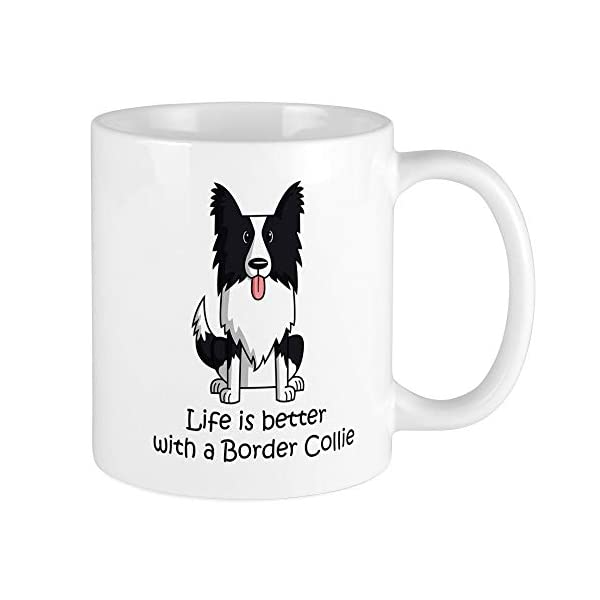 CafePress Border Collie Mug Unique Coffee Mug, Coffee Cup 1