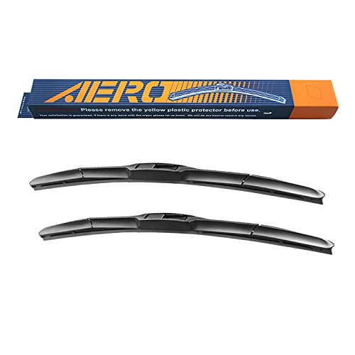 "AERO Hybrid 22"" + 22"" OEM Quality All-Season Windshield Wiper Blades (Set of 2)"