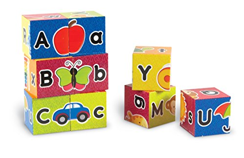 (Learning Resources Alphabet Puzzle Blocks, Multicolor)