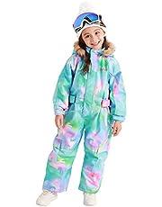 Bluemagic Little Kid's One Piece Overall Snowsuits Ski Suits Jackets Coats Jumpsuits
