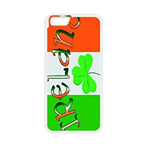 "-ChenDong PHONE CASE- For Apple Iphone 6,4.7"" screen Cases -Lucky Clover & Irish Flag-UNIQUE-DESIGH 3"