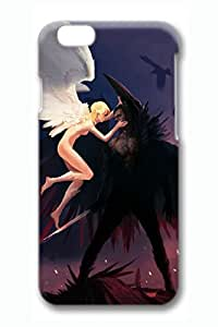 Angels Vs Devils Slim Hard Cover for iPhone 6 Plus Case ( 5.5 inch ) PC 3D Cases
