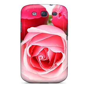 Fashion Dfz2290ITiX Case Cover For Galaxy S3(mother S Day Beautiful Flower Rose And Tulips)