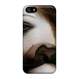 Perfecto Michelle Trachtenberg Carcasas piel para Iphone 5/5S Phone Cases