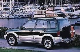 PSSC Pre Cut Rear Car Window Films for Suzuki Grand Vitara 1998-2005 20/% Dark Tint