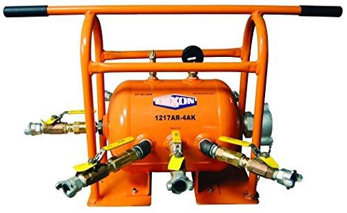 Dixon 1217AR-4AK Orange ASME Compressor Air Hose Fitting