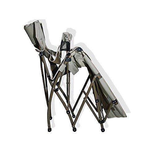 Aluminium Chaise Longue Pliante Camping Chaise Exterieure Leger