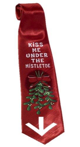 Amazon.com: Christmas Tie - Mistletoe: Clothing