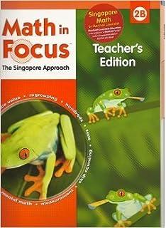 Amazon math in focus singapore math teachers edition book b math in focus the singapore approach book 2b teachers edition math in fandeluxe Image collections