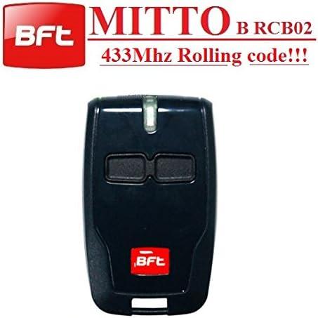 BFT MITTO B RCB02R12canales mando a distancia, 433,92mhz rolling code, la nueva versión de BFT MITTO2. Top calidad BFT B RCB02transmisor para el mejor precio.