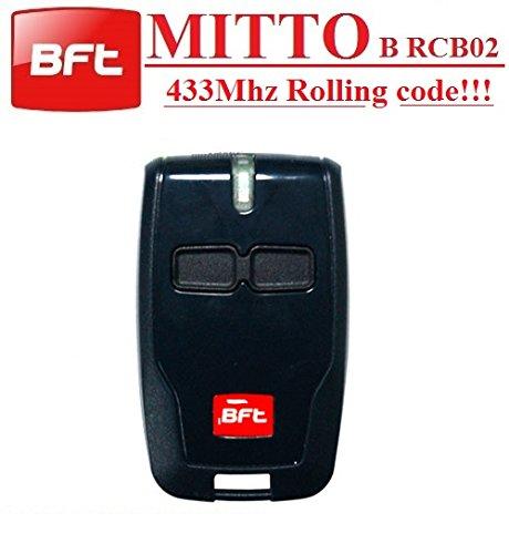 BFT Mitto B RCB02 R1 handsender 2-kanal 433.92Mhz fernbedienung Rolling code!! Top Qualit/ät BFT B RCB02 fernbedienung f/ür den besten Preis!!! Die neue Version von BFT Mitto2
